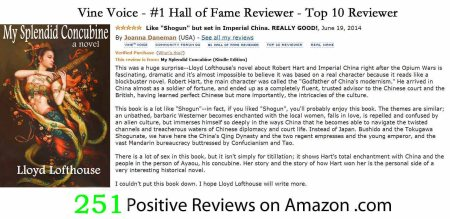 251 Hall of Fame Positive Reviews on Amazon.jpg